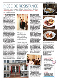 New Steine Hotel - Food/Restaurant Review - click to read/open PDF