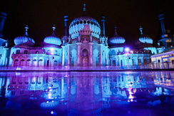 Brighton's Royal Pavilion at Dusk