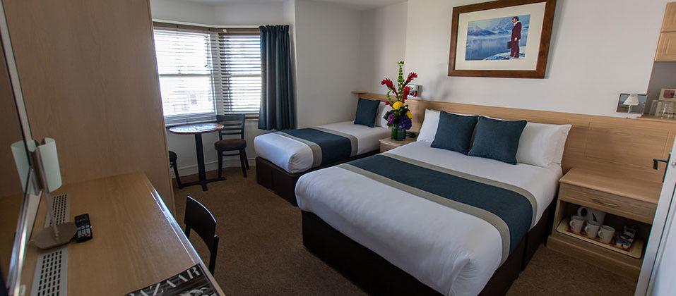 New Steine Hotel 2020 triple bed