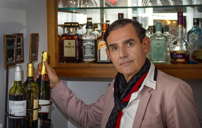 21 years at the New Steine Hotel, proprietor Hervé Guyat
