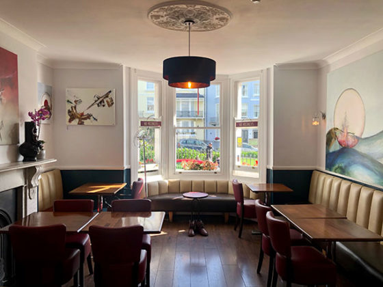 New Steine Hotel - lounge