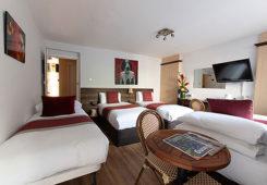 New Steine Hotel Bistro Quad Room
