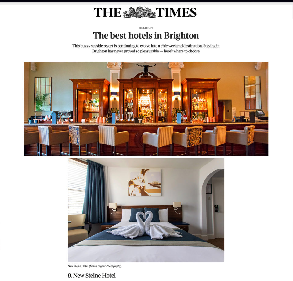 The Times Top Hotels in Brighton 2021